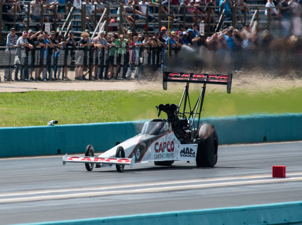 Steve Torrence captured the win in Top Fuel