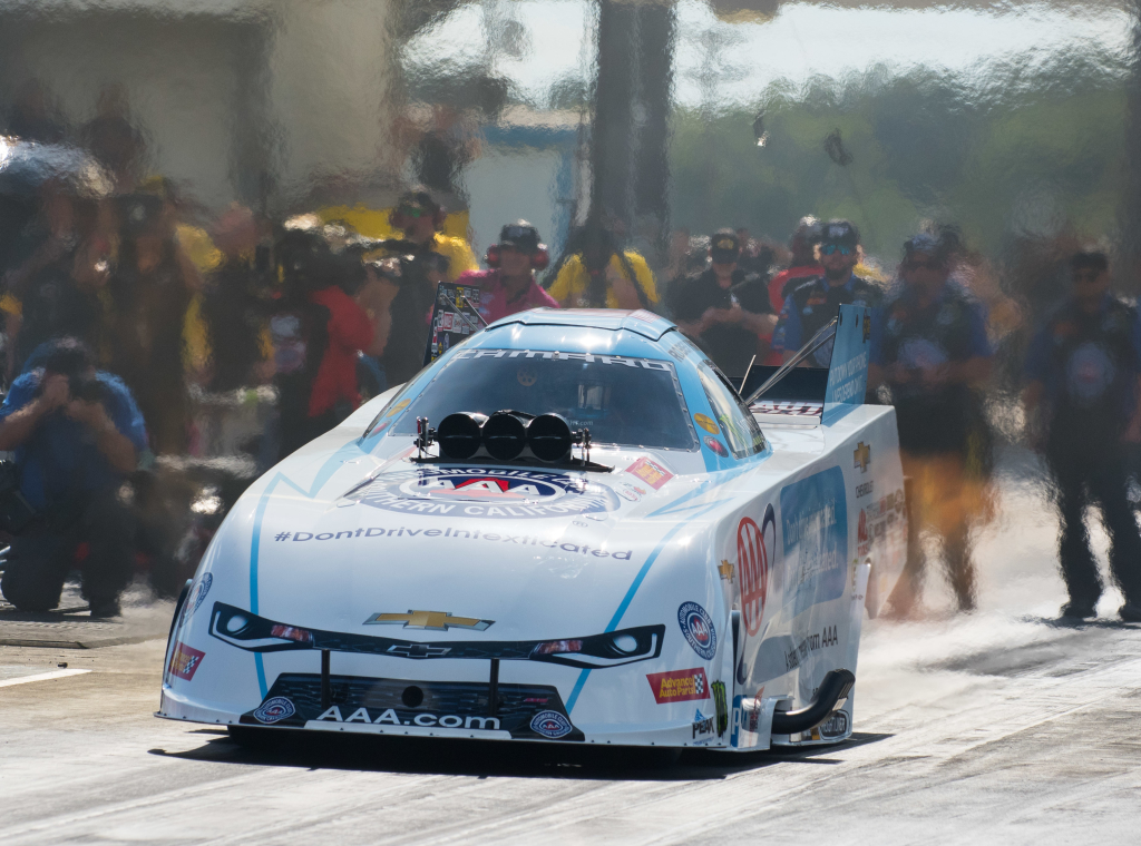 Robert Hight captured the win in Funny Car