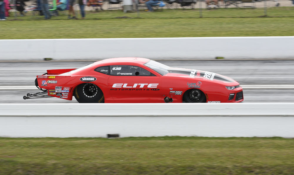 New Orleans resident Erica Enders put her Elite Motorsports Camaro in the Pro Stock final where she fell to Matt Hartford