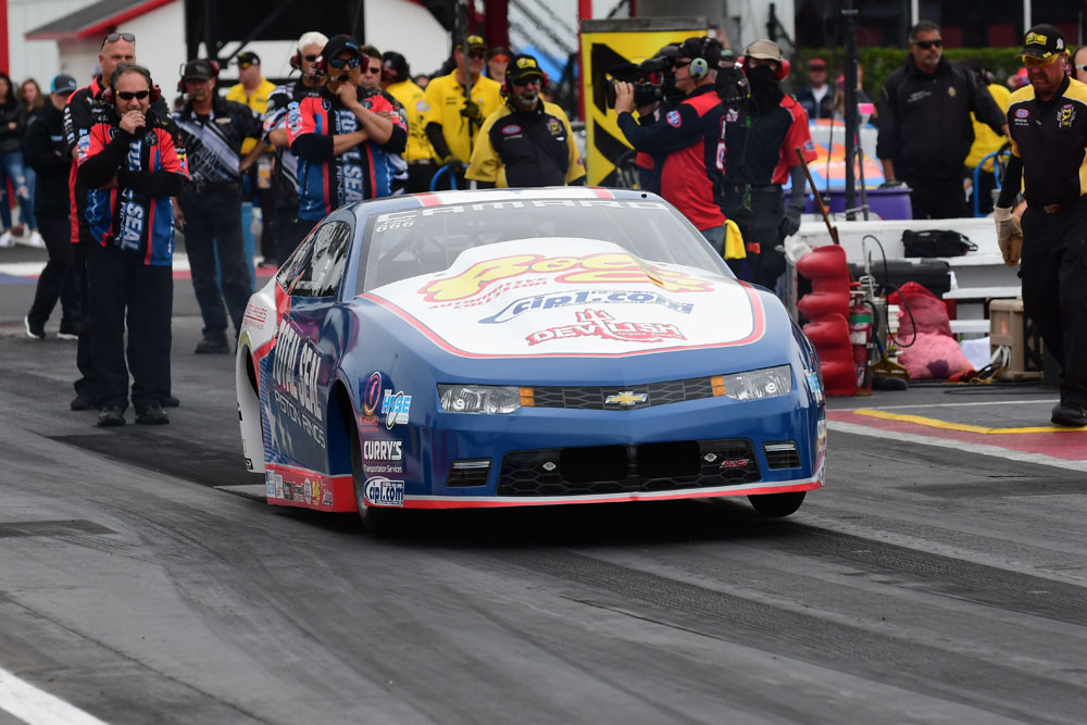 Matt Hartford claimed his first ever Pro Stock victory, outrunning New Orleanian Erica Enders in the final.