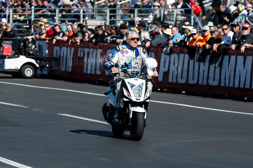 16 time Funny Car World Champion John Force got his season off to a good start with a semi-final finish.