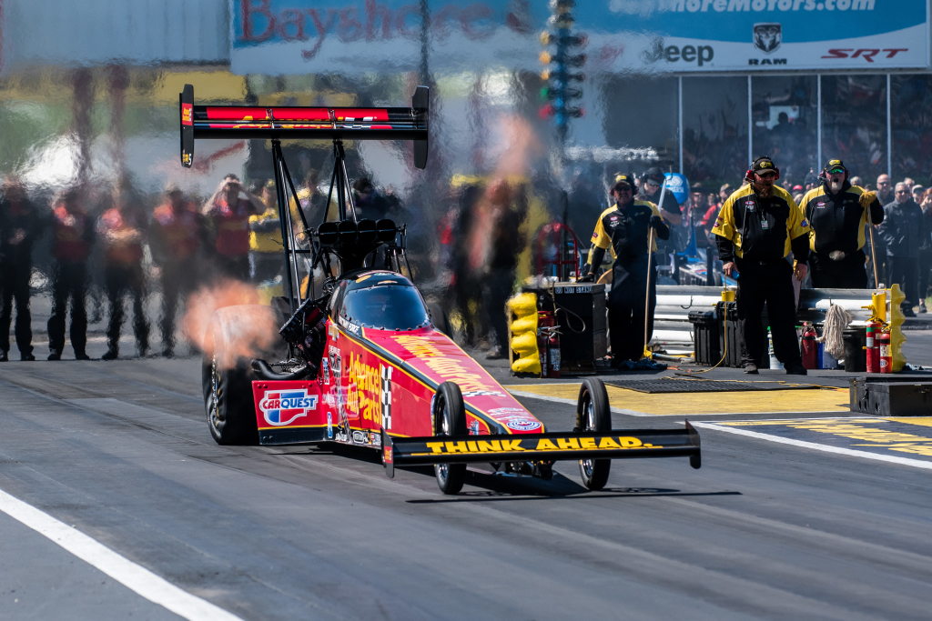 Brittany Force drove to her second Top Fuel win in a row in Houston.