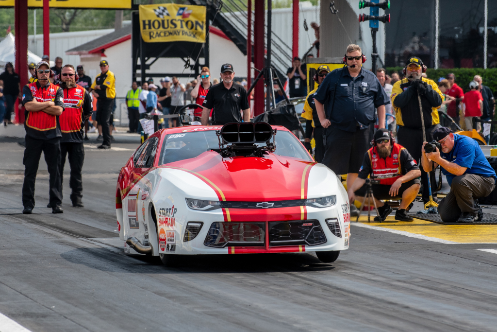 """Stevie """"Fast"""" Jackson took home the win in Pro Mod"""