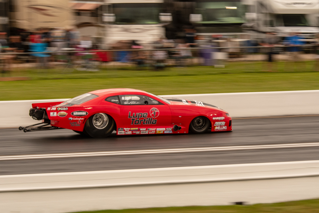 Former New Orleanian Erica Enders set a new national speed record in Pro Mod when she ran 260 mph in her Camaro.